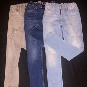 Girls Children's Place Jegging Bundle